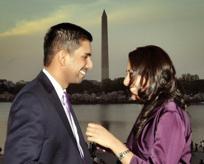 Akhter, deputy chief of staff to Rep. Bill Pascrell, D-N.J., is engaged to Saira Hussain, Asst. VP and Counsel at BNP Paribus