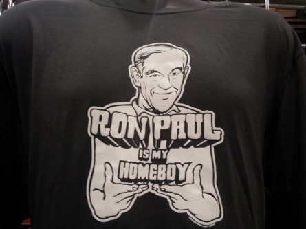 Ron Paul t-shirt at PAUL Fest