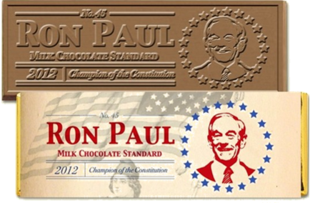 Ron Paul chocolate bar