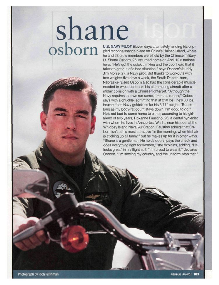 Shane Osborn in People