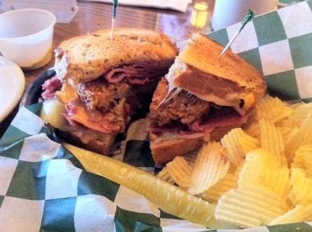 Star and Shamrock sandwich