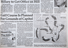The front page of Roll Call on April 1, 1993.