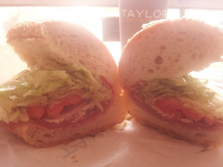 Taylor Gourmet's 9th Street Italian hoagie