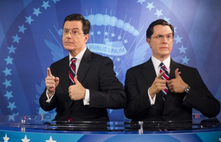 stephen colbert, south carolina, wax figure