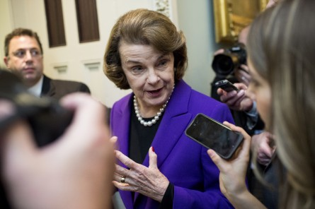 Feinstein (Bill Clark/CQ Roll Call File Photo)