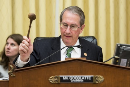 Goodlatte. (CQ Roll Call File Photo)