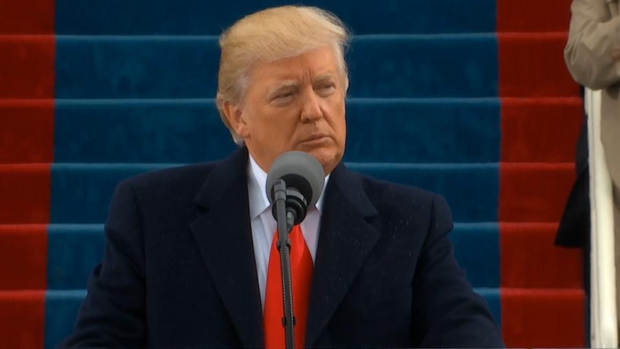 Trump Sworn In as 45th President